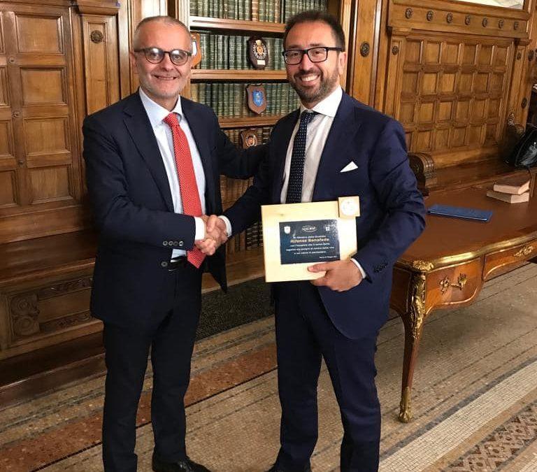 Incontro con il Ministro della Giustizia Alfonso Bonafede