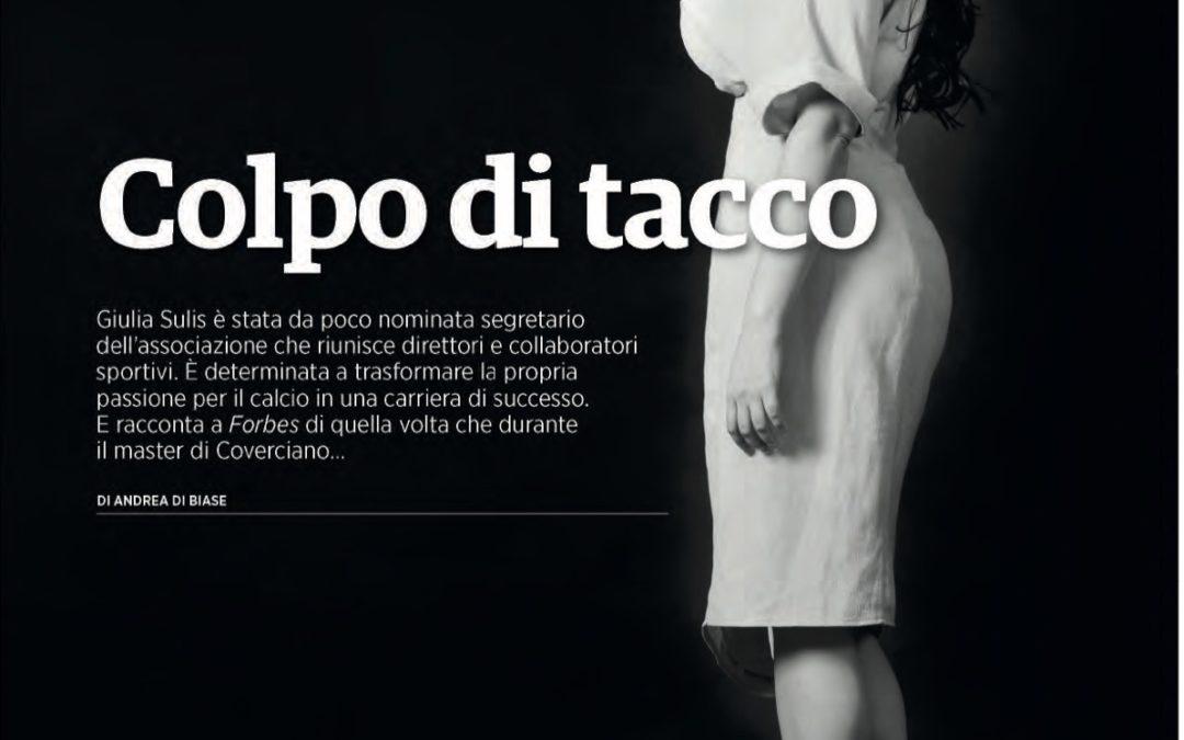 Su Forbes Italia l'intervista al segretario Giulia Sulis