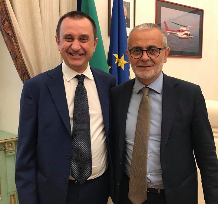 Incontro con il Vice Presidente della Camera dei Deputati Ettore Rosato